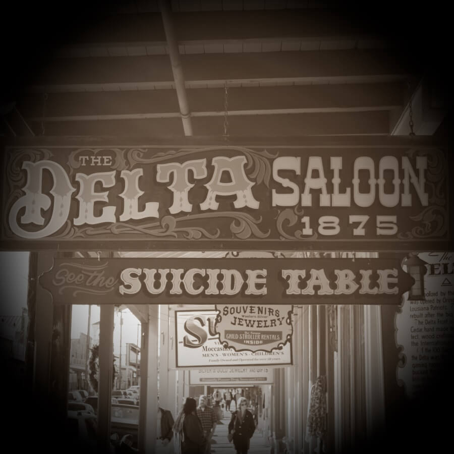 The Historic Delta Saloon Virginia City