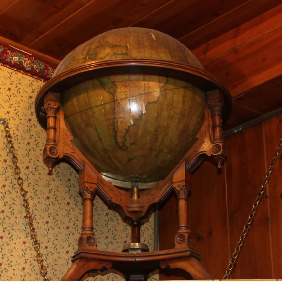 The Miners Globe at the Delta Saloon Virginia City