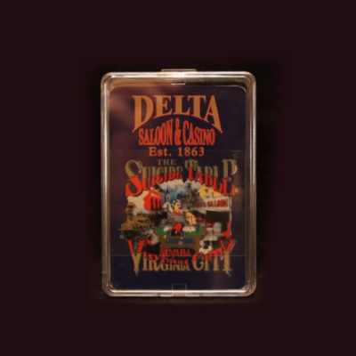 Delta Saloon Playing Cards