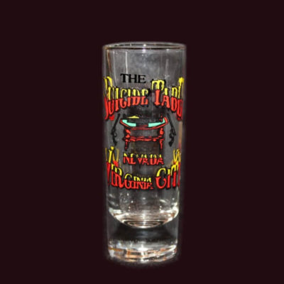 Delta Saloon Suicide Table Tall Shot Glass